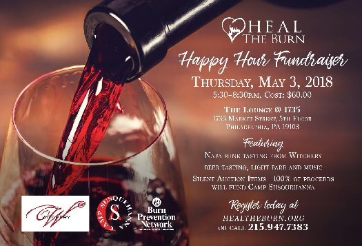 Happy Hour Event Flyer